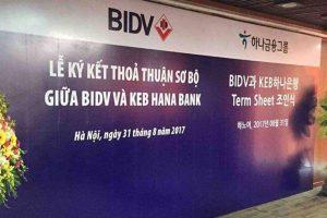 Cổ phiếu BID: Tin đồn sắp phát hành riêng lẻ 10% cho đối tác Hàn Quốc